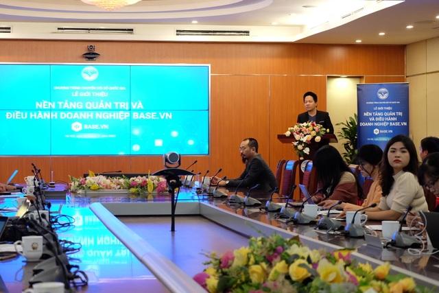 Base.vn được Bộ TTTT đề cử là giải pháp hỗ trợ DN Make in Vietnam - 1