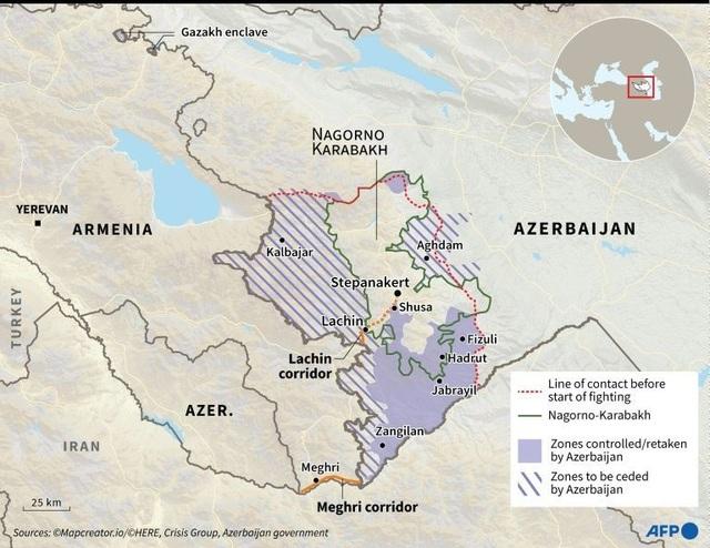 Xe tăng Azerbaijan ùn ùn tiến vào tiếp quản quận đầu tiên từ Armenia - 3