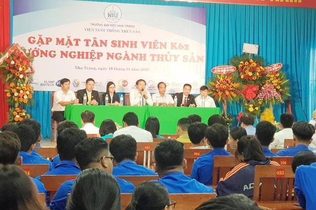 Khánh Hòa: 500 sinh viên thủy sản dự hội thảo hướng nghiệp việc làm - 1