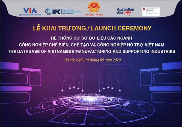 Sắp khai trương hệ thống cơ sở dữ liệu ngành công nghiệp chế biến chế tạo, công nghiệp hỗ trợ Việt Nam - 2