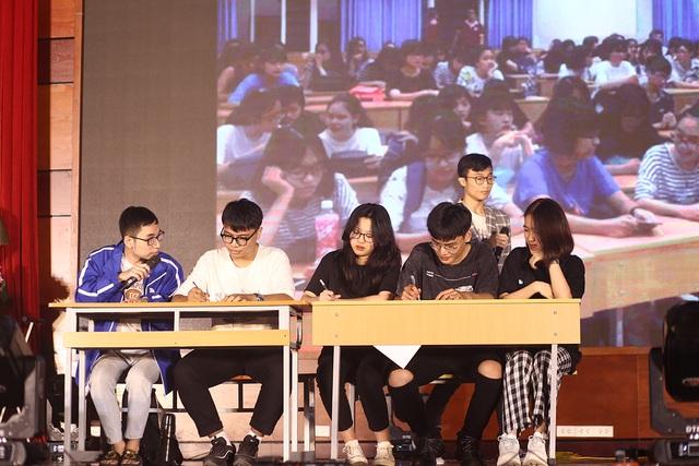 Dàn người mẫu sinh viên ĐH Luật Hà Nội đầy thần thái đón chào ma mới - 11