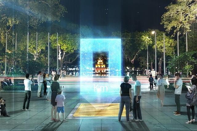Hà Nội lấy ý kiến dân về phương án thiết kế Cột mốc số 0 bên hồ Hoàn Kiếm - 3