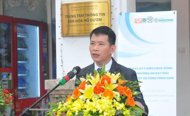 Hà Nội lấy ý kiến dân về phương án thiết kế Cột mốc số 0 bên hồ Hoàn Kiếm - 1