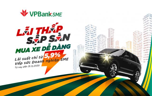 """Sở hữu ô tô 'siêu tốc"""" với gói vay cực hấp dẫn từ VPBank - 1"""