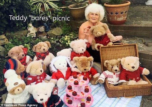 Bà cụ 80 tuổi chụp ảnh lịch khỏa thân giúp gây quỹ từ thiện - 9