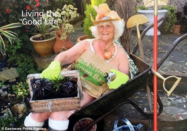 Bà cụ 80 tuổi chụp ảnh lịch khỏa thân giúp gây quỹ từ thiện - 13