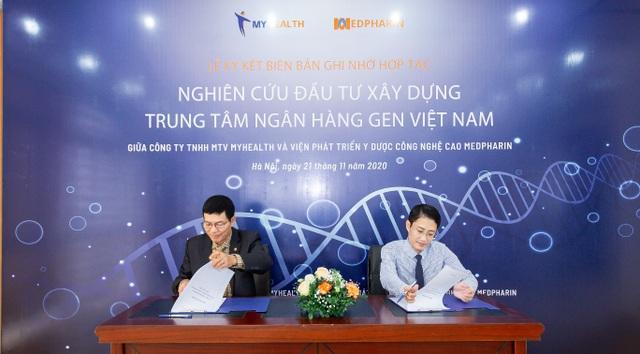 Lễ Ký kết xúc tiến nghiên cứu, phối hợp triển khai Trung tâm Ngân hàng Gen Việt Nam - 1