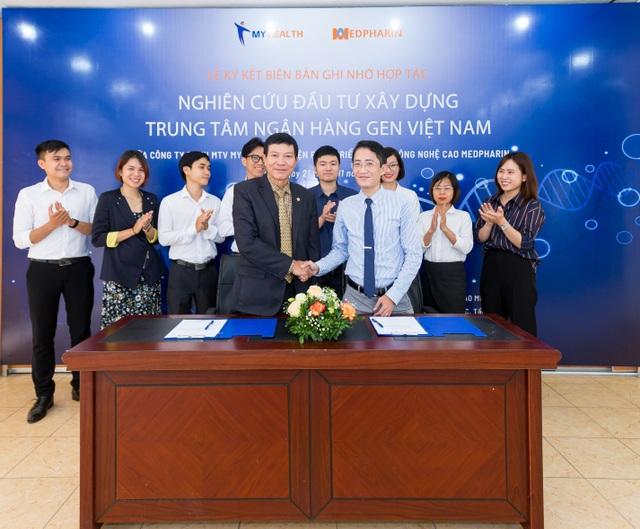 Lễ Ký kết xúc tiến nghiên cứu, phối hợp triển khai Trung tâm Ngân hàng Gen Việt Nam - 2