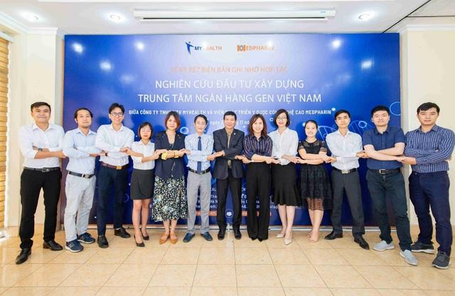 Lễ Ký kết xúc tiến nghiên cứu, phối hợp triển khai Trung tâm Ngân hàng Gen Việt Nam - 3