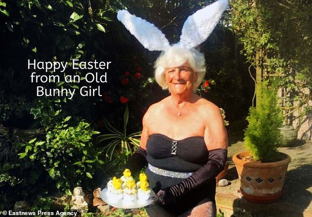 Bà cụ 80 tuổi chụp ảnh lịch khỏa thân giúp gây quỹ từ thiện - 2