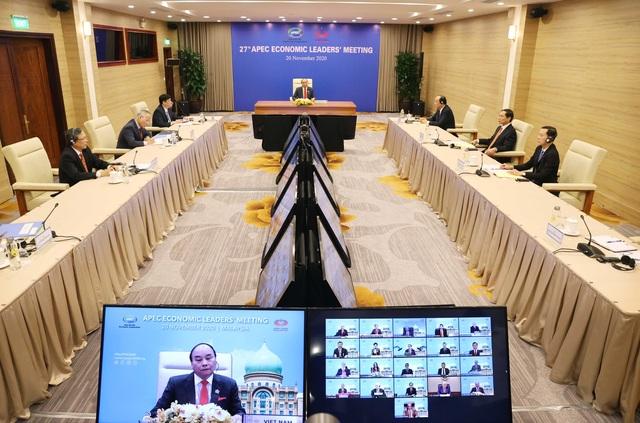 Thủ tướng Nguyễn Xuân Phúc nêu các đề xuất chiến lược thúc đẩy hợp tác APEC - 1