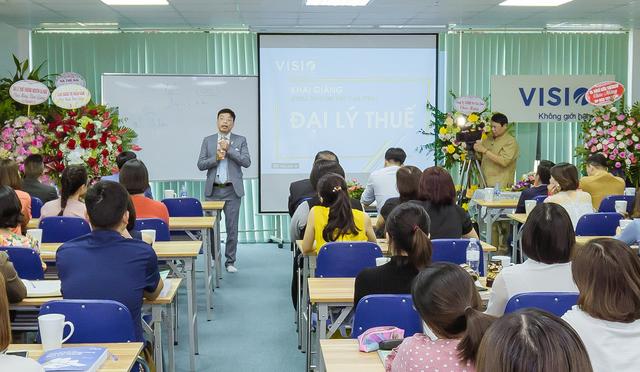 VISIO- Khai giảng Khóa ôn thi chứng chỉ hành nghề đại lý thuế tại Hà Nội - 1