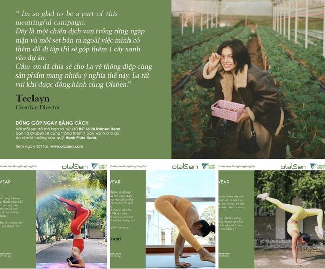 Olaben: thương hiệu đồ tập cao cấp đang được nhiều sao Việt ưa chuộng - 4