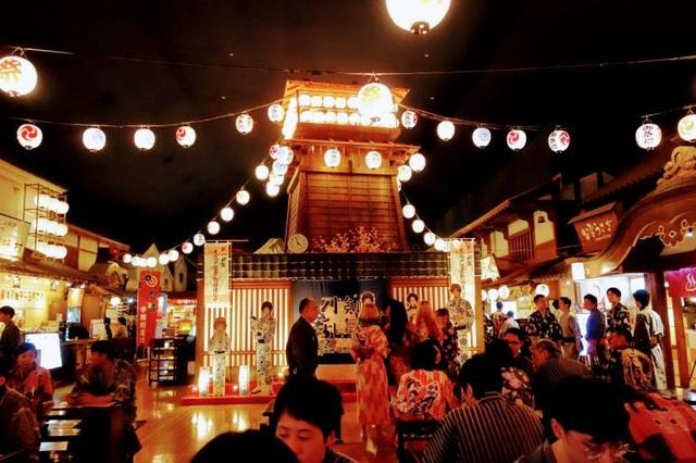 """Tắm onsen ở """"suối nước nóng vàng"""" Tokyo theo phong cách thời Edo - 1"""
