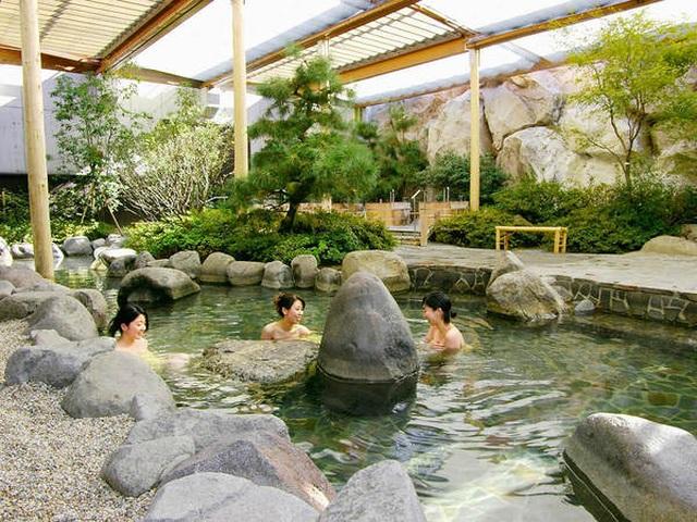 """Tắm onsen ở """"suối nước nóng vàng"""" Tokyo theo phong cách thời Edo - 4"""