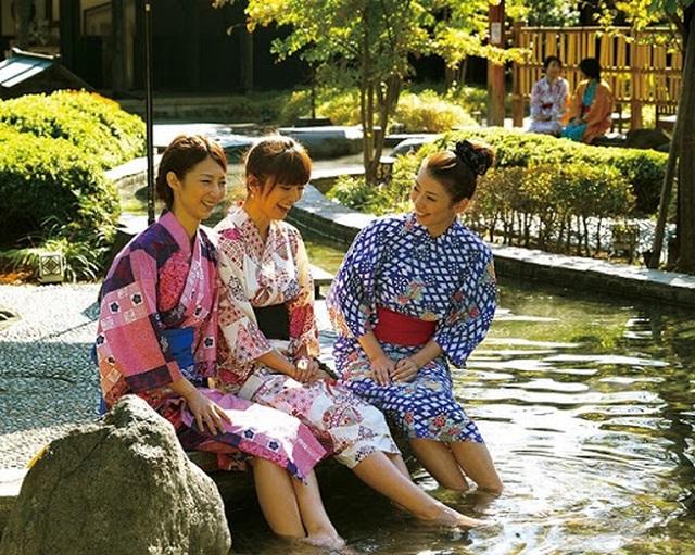 """Tắm onsen ở """"suối nước nóng vàng"""" Tokyo theo phong cách thời Edo - 5"""