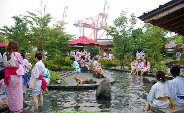 """Tắm onsen ở """"suối nước nóng vàng"""" Tokyo theo phong cách thời Edo - 6"""