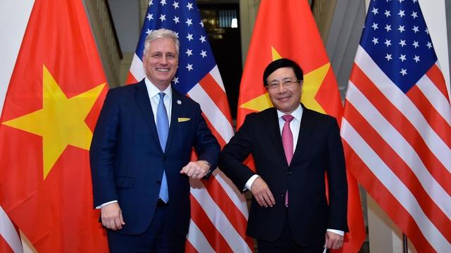 Mỹ mong muốn cùng Việt Nam tăng cường phối hợp xử lý các thách thức chung - 1