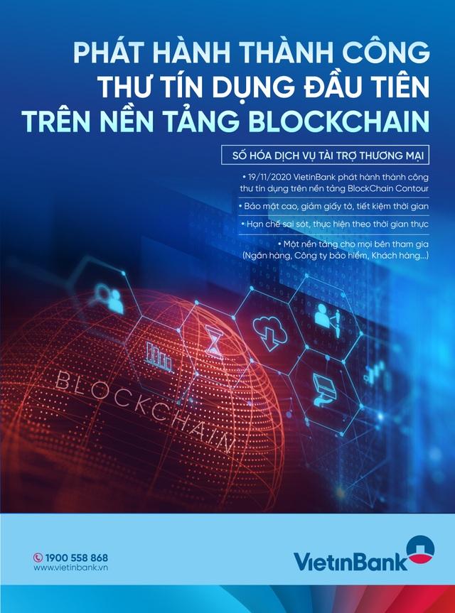 VietinBank phát hành thành công L/C đầu tiên ứng dụng công nghệ Blockchain - 2
