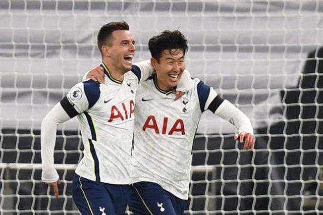Tottenham 2-0 Man City: Son Heung Min, Lo Celso đặt dấu ấn - 1