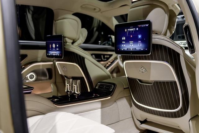 Mercedes-Maybach S-Class 2021 - Định nghĩa mới về sedan hạng sang - 22