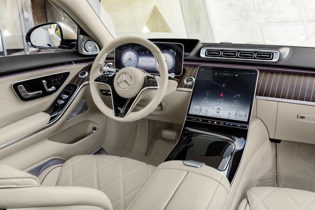Mercedes-Maybach S-Class 2021 - Định nghĩa mới về sedan hạng sang - 17