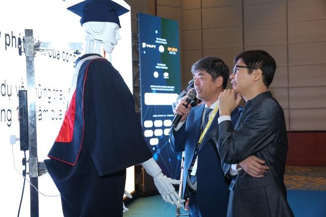 """Người máy AI """"quốc tịch Việt Nam"""" đầu tiên ứng dụng trong giáo dục - 3"""