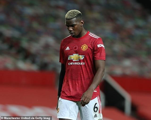 Vì sao Paul Pogba bỗng dưng mất hút trong đội hình Man Utd? - 1