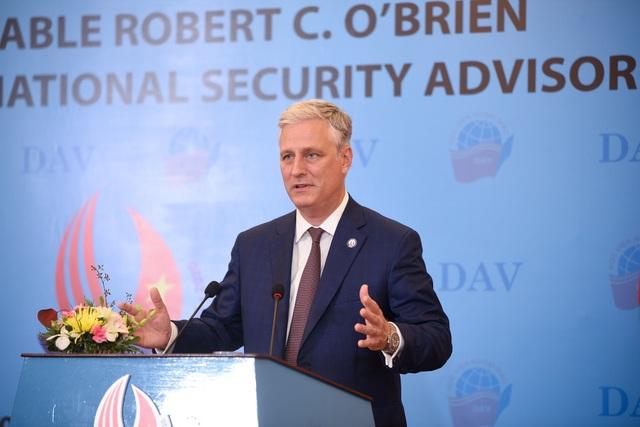 Cố vấn An ninh Mỹ: Mỹ luôn sẵn sàng giúp Việt Nam phát triển kinh tế - 1
