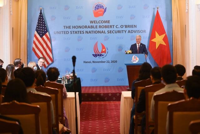 Cố vấn An ninh Mỹ: Mỹ luôn sẵn sàng giúp Việt Nam phát triển kinh tế - 2