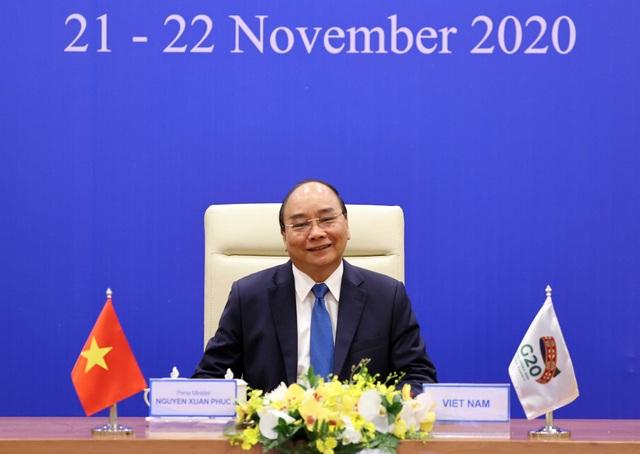 Thủ tướng đề nghị G20 xây dựng thoả thuận sản xuất vắc xin Covid-19 - 1