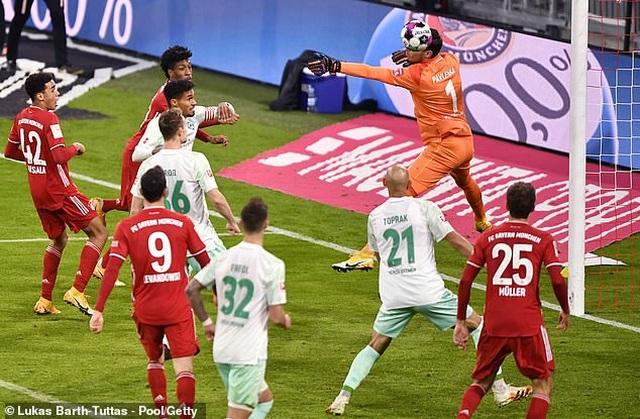 Bayern Munich 1-1 Werder Bremen: Neuer tỏa sáng giúp đội nhà thoát thua - 2
