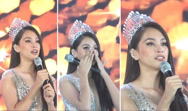 Những giọt nước mắt trên sân khấu Chung kết Hoa hậu Việt Nam - 1