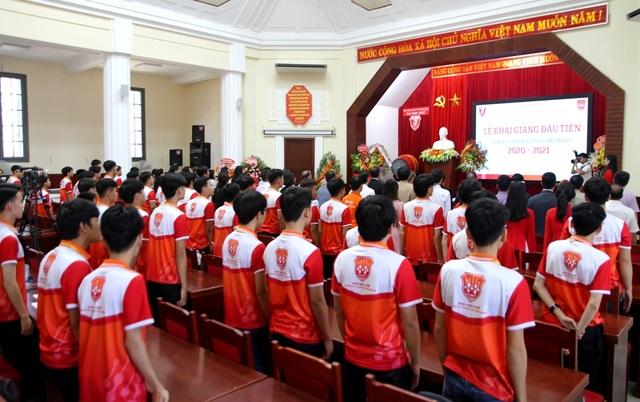 Khoa Kỹ thuật và Công nghệ, Đại học Huế tổ chức lễ khai giảng đầu tiên - 1