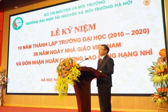 Đại học Tài nguyên và Môi trường Hà Nội kỷ niệm 10 năm thành lập - 2