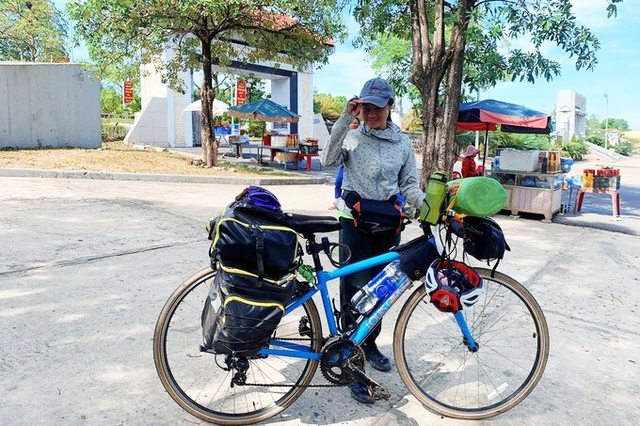Nữ phượt thủ đạp xe hơn 3 nghìn km, hai tháng chỉ tiêu hết vài trăm nghìn - 3