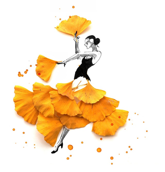 """Lá vàng và màu nước tạo nên những """"tác phẩm mùa thu"""" hút mắt - 12"""