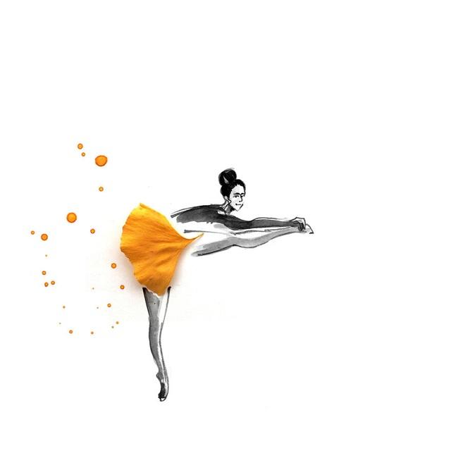 """Lá vàng và màu nước tạo nên những """"tác phẩm mùa thu"""" hút mắt - 8"""
