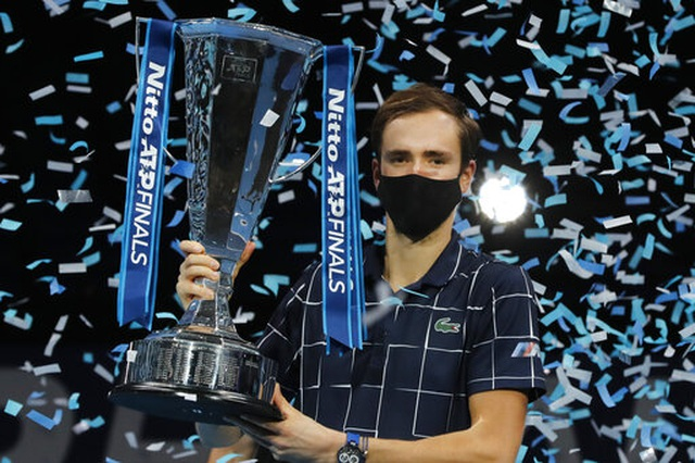 Daniil Medvedev lần đầu tiên vô địch ATP Finals - 1