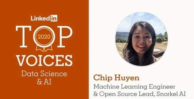 Huyền Chip trở thành người có sức ảnh hưởng mảng Data Science và AI - 1