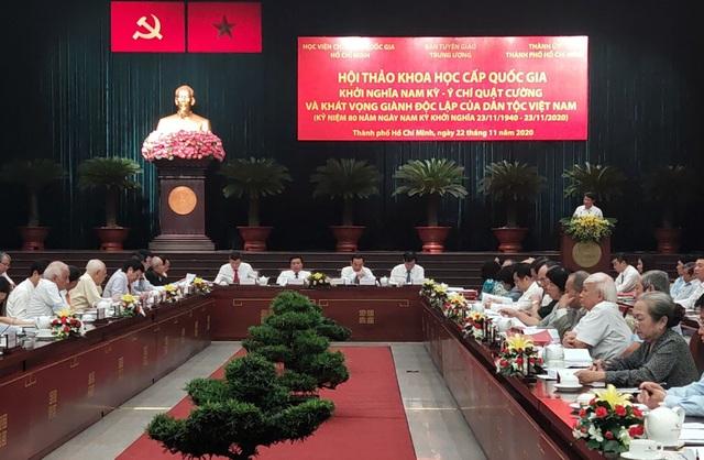 Khởi nghĩa Nam kỳ - Khát vọng giành độc lập của dân tộc Việt Nam - 1