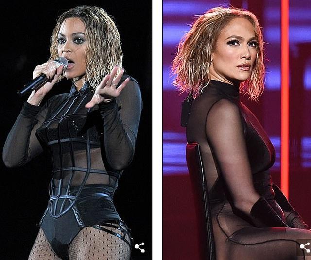 Fans tố Jennifer Lopez bắt chước màn diễn của Beyonce - 1