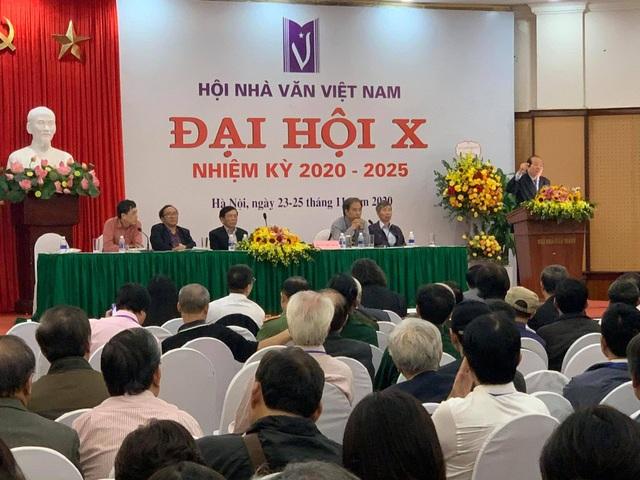 Nhà thơ Nguyễn Quang Thiều được bầu làm Chủ tịch Hội Nhà văn Việt Nam - 2