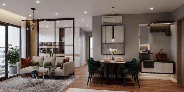 Biến hóa không gian 55 m2 thành căn hộ 2 phòng ngủ cực chuẩn - 1