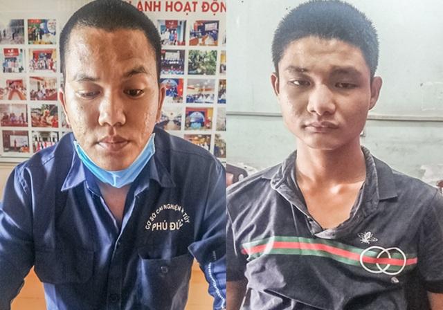 Cặp đôi dùng dao, bình hơi cay cướp xe bị bắt sau 1 năm gây án - 1