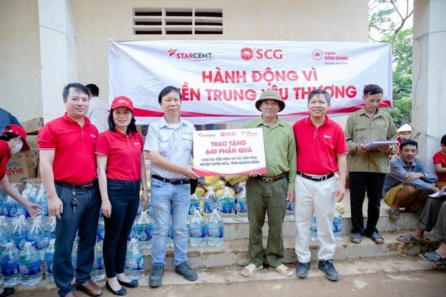 Tập đoàn SCG lan tỏa trách nhiệm với cộng đồng trước thiên tai tại miền Trung - 1