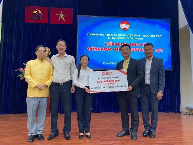 Tập đoàn SCG lan tỏa trách nhiệm với cộng đồng trước thiên tai tại miền Trung - 4
