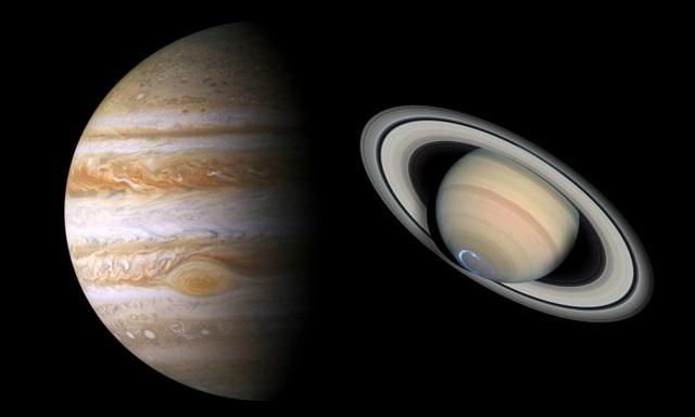 Sao Mộc, Sao Thổ lần đầu tiên tiếp cận siêu gần kể từ thời Trung cổ - 1