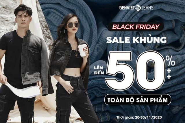 Thời trang Genviet Jeans ưu đãi lên đến 50%++ dịp Black Friday - 1