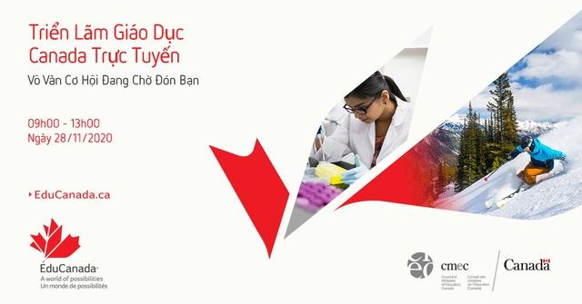 Triển lãm Giáo dục Canada trực tuyến do Chính phủ Canada tổ chức tháng 11/2020 - 1